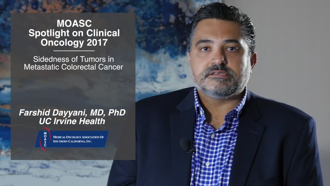 Sidedness of Tumors in Metastatic Colorectal Cancer