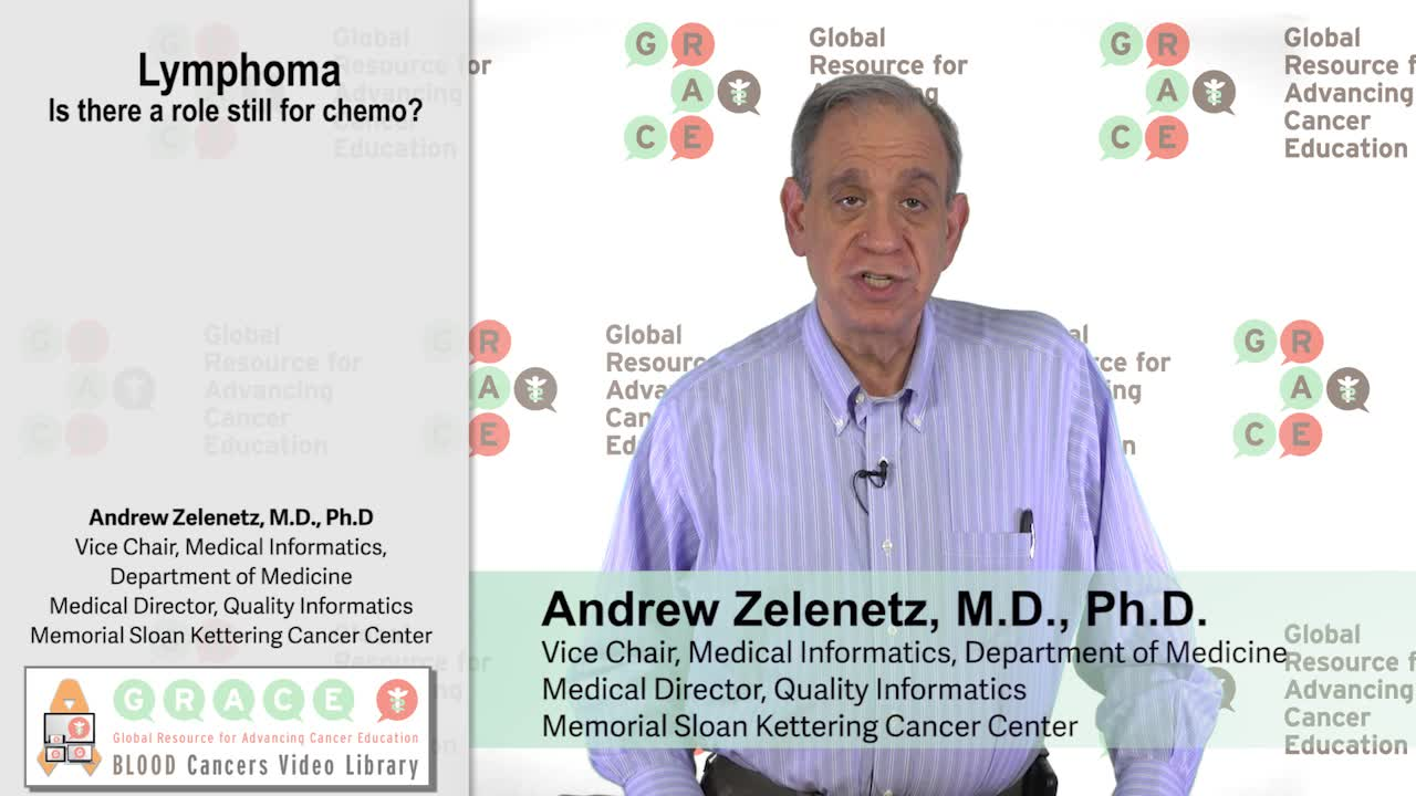 Lymphoma - Is there still a role for chemo?
