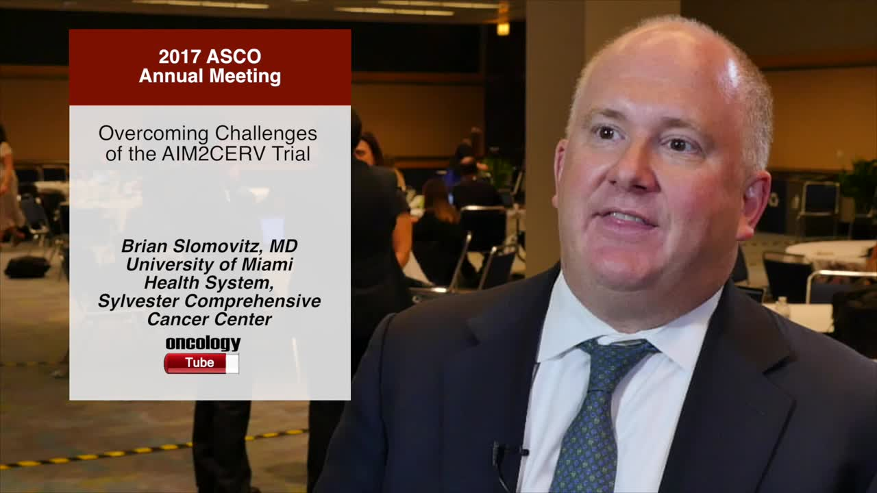 Overcoming Challenges of the AIM2CERV Trial