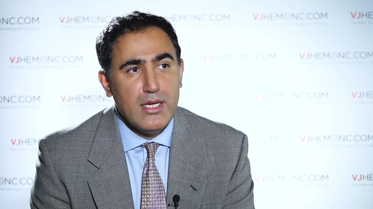 FLT3 inhibitors for treating AML