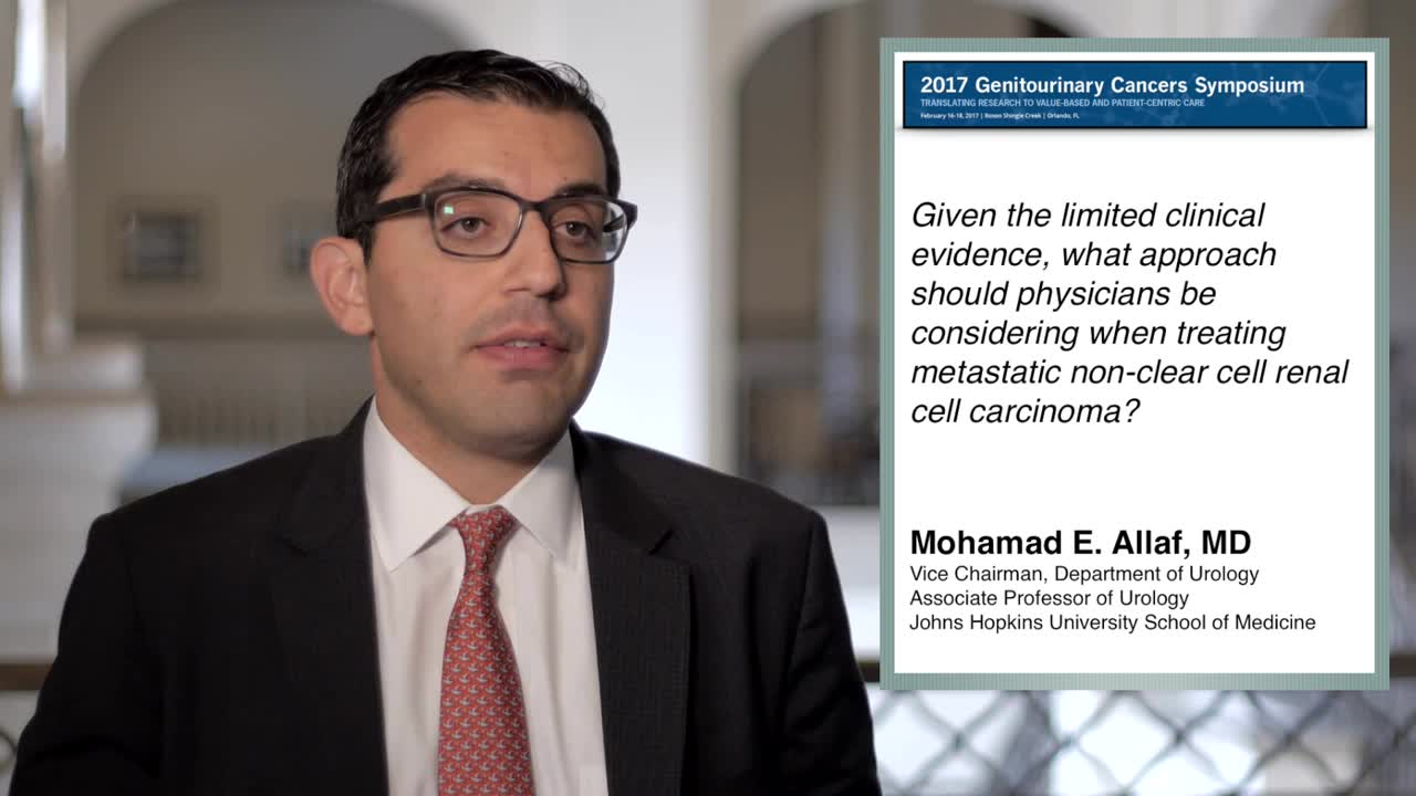 What Approach Should Physicians Consider When Treating Metastatic Non-Clear Cell Renal Cell Carcinoma
