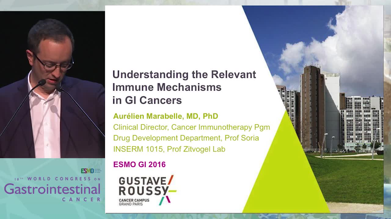 Keynote Lecture 3: Understanding the relevant immune mechanisms in GI cancer