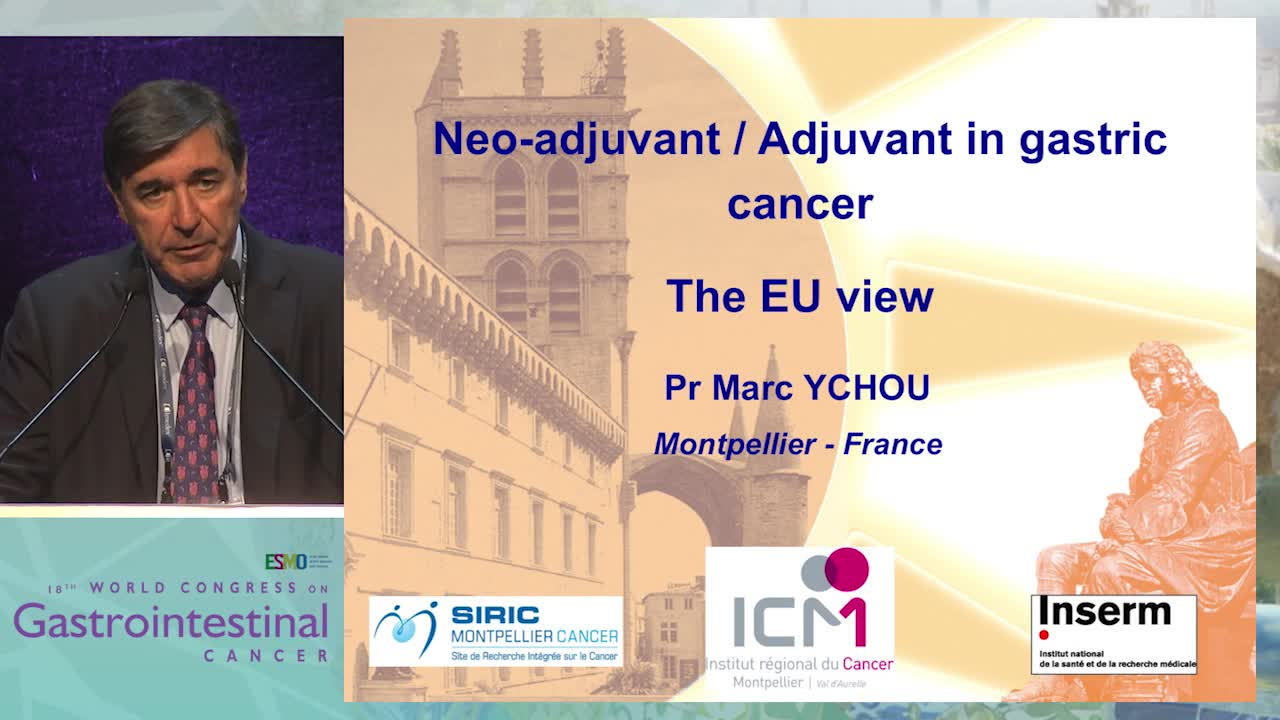 Controversy Debate 3: Neo-adjuvant/Adjuvant treatment in gastric cancer - The EU view
