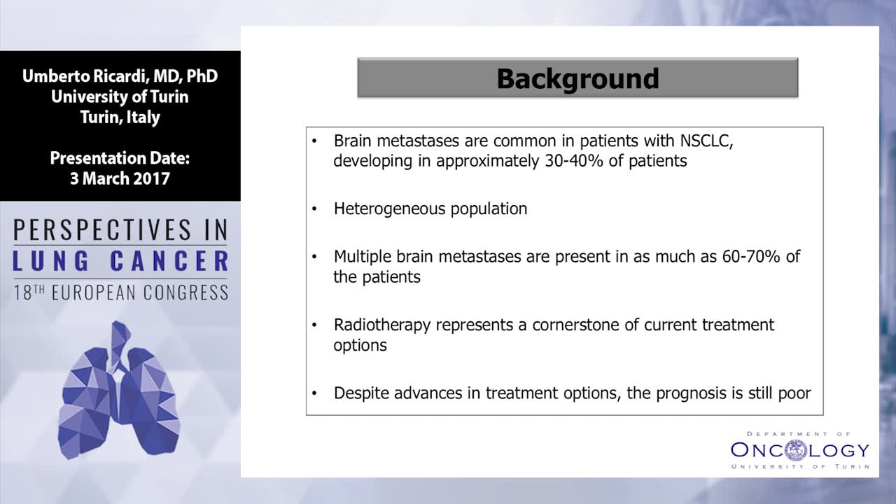 Treatment of brain metastases with loco-regional treatments