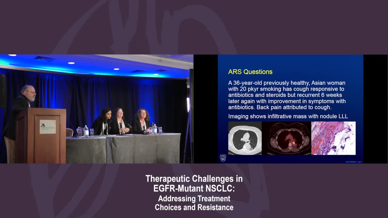 NSCLC: Interactive Case-based Panel Discussion