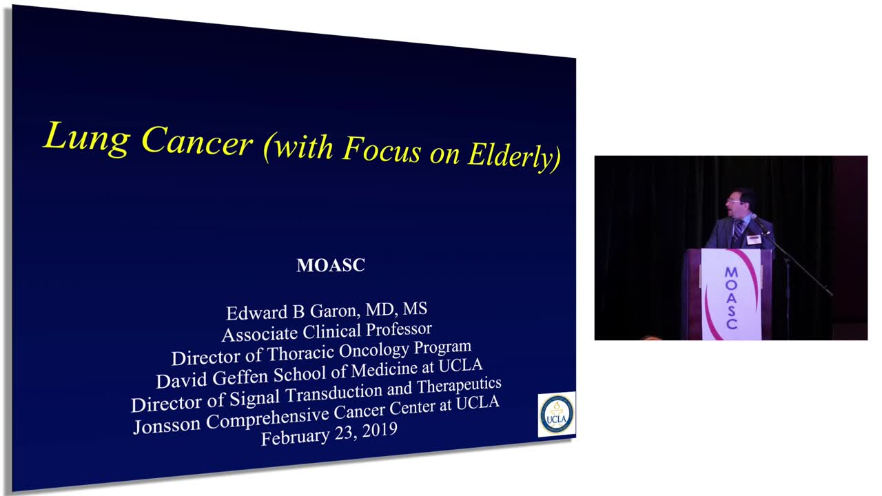 Lung Cancer (With Focus On Elderly)