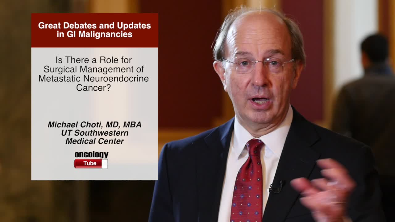 Is There a Role for Surgical Management of Metastatic Neuroendocrine Cancer?