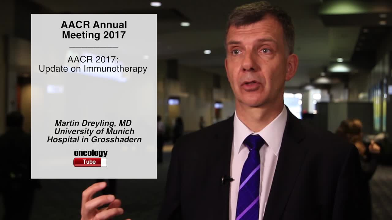 AACR 2017: Update on Immunotherapy