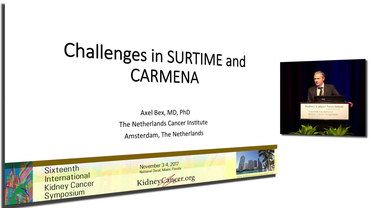 Challenges in SURTIME and CARMENA