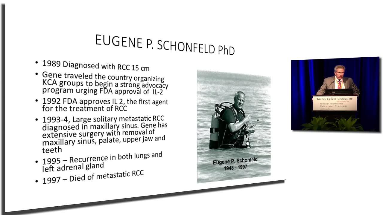 2017 Nizar M Tannir, MD - Eugene P. Schonfeld Memorial Lecture