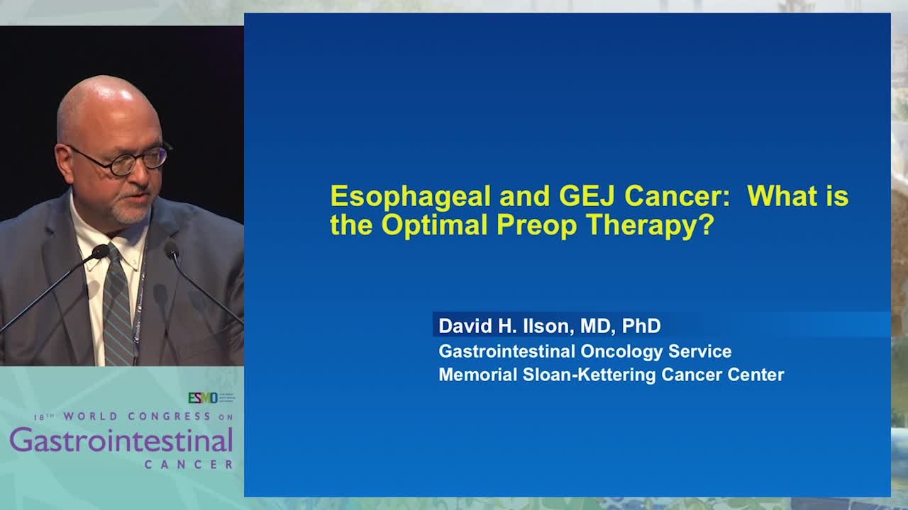 What is the most optimum perioperative treatment in esophageal cancer