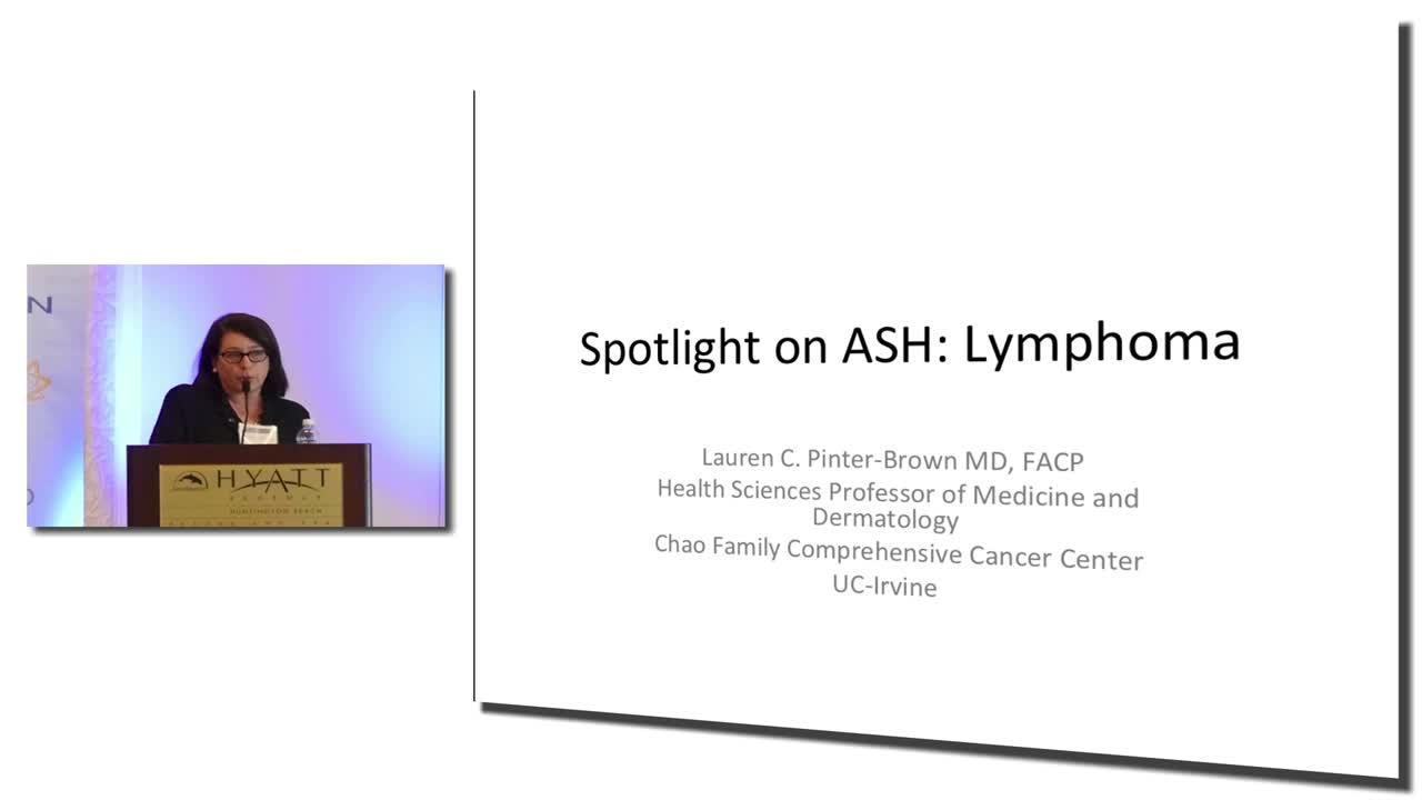 Spotlight on ASH: Lymphoma