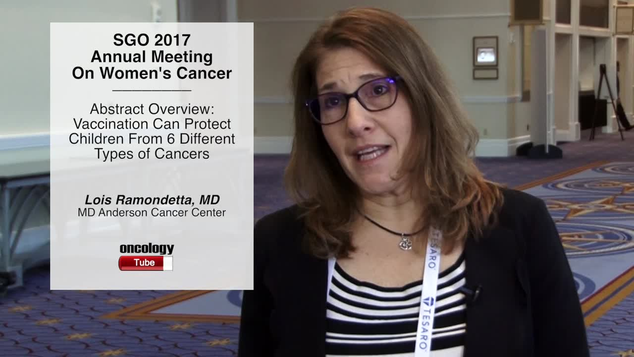 Abstract Overview: Vaccination Can Protect Children From 6 Different Types of Cancers