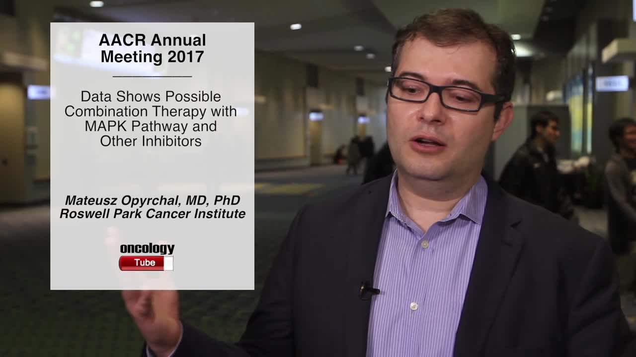 Data Shows Possible Combination Therapy with MAPK Pathway and Other Inhibitors