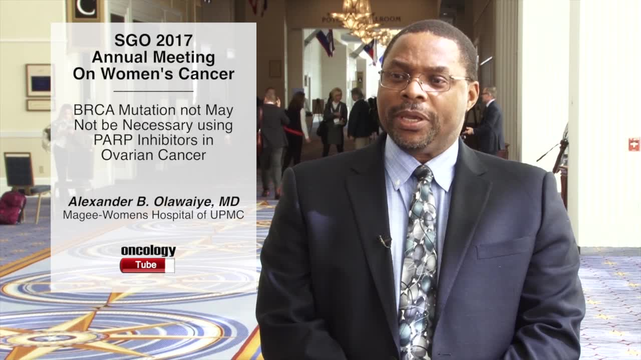 BRCA Mutation May Not be Necessary using PARP Inhibitors in Ovarian Cancer