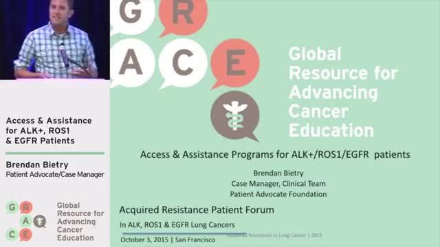 Access & Assistance for ALK+, ROS1 & EGFR Patients [360p]