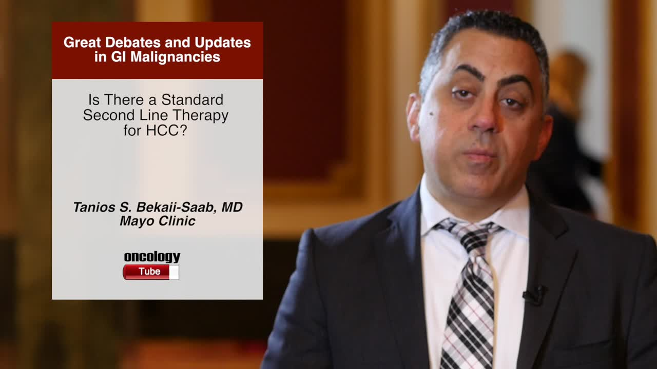 Is There a Standard Second Line Therapy for HCC?