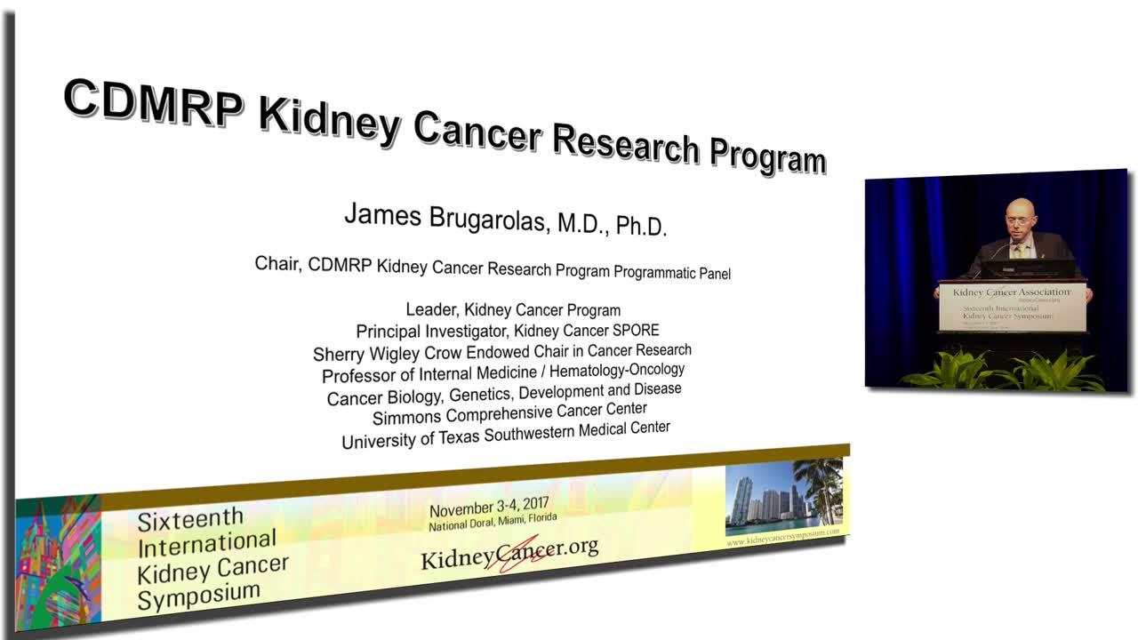 CDMRP Kidney Cancer Research Program