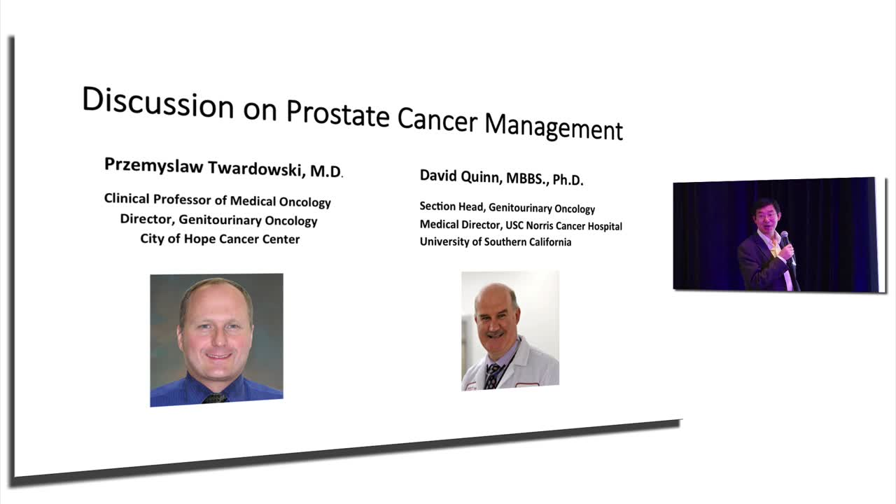 Discussion on Prostate Cancer Management