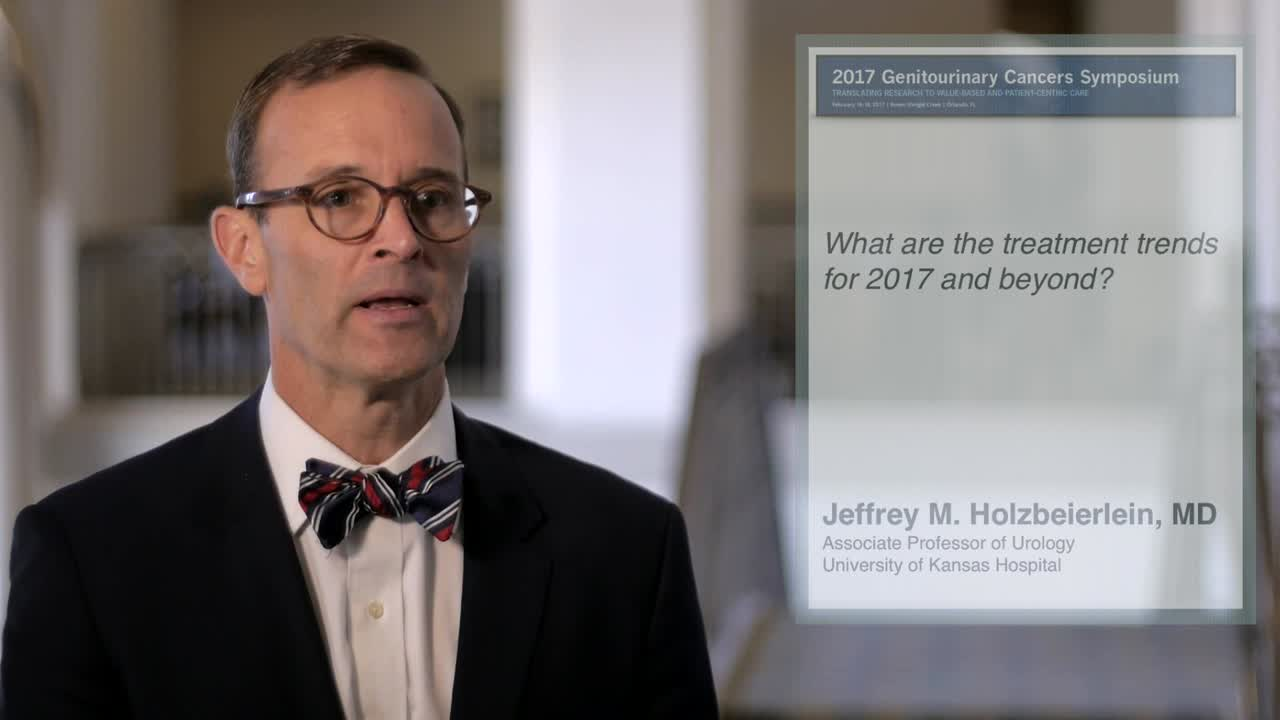 Annual Meeting GU 2017: Treatment Trends for 2017 and Beyond