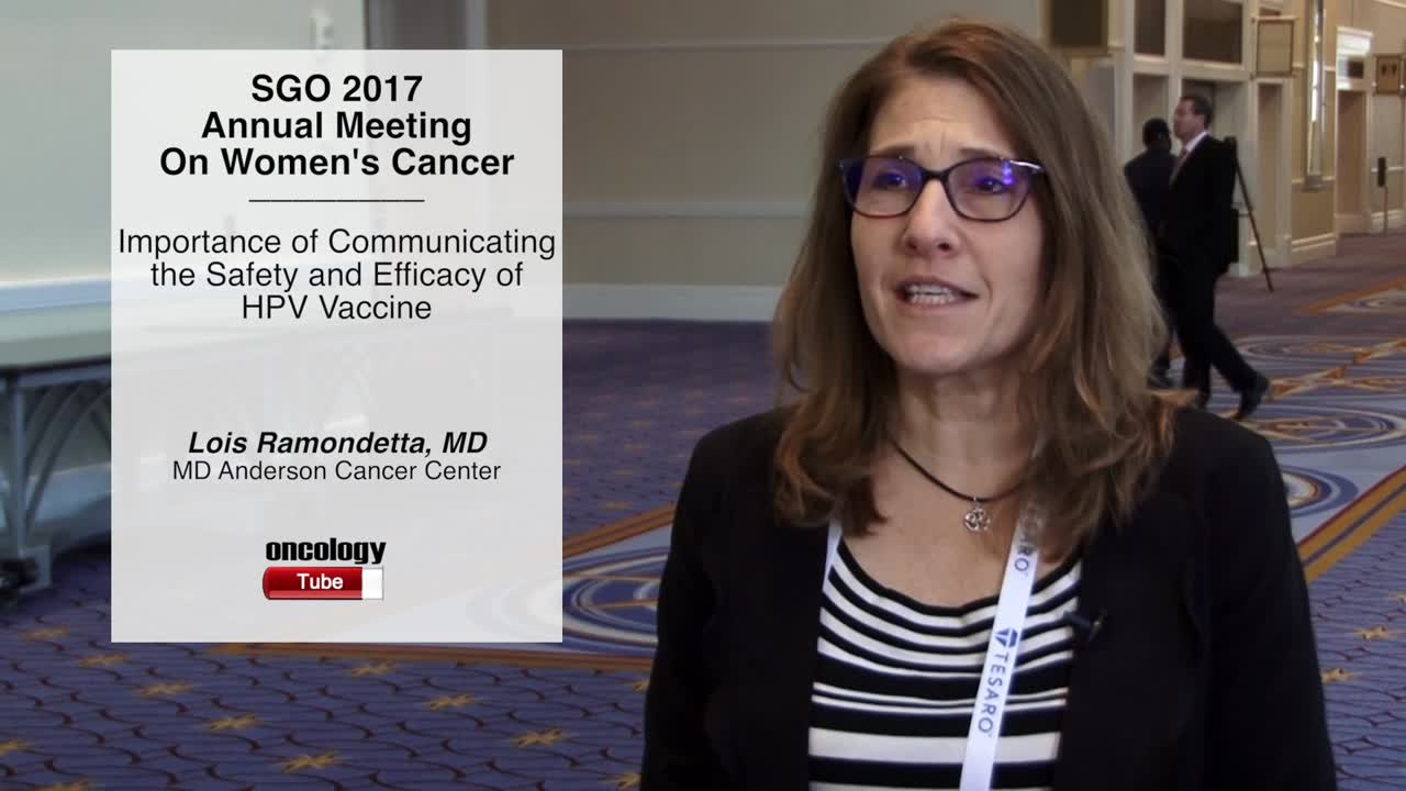 Importance of Communicating the Safety and Efficacy of HPV Vaccine