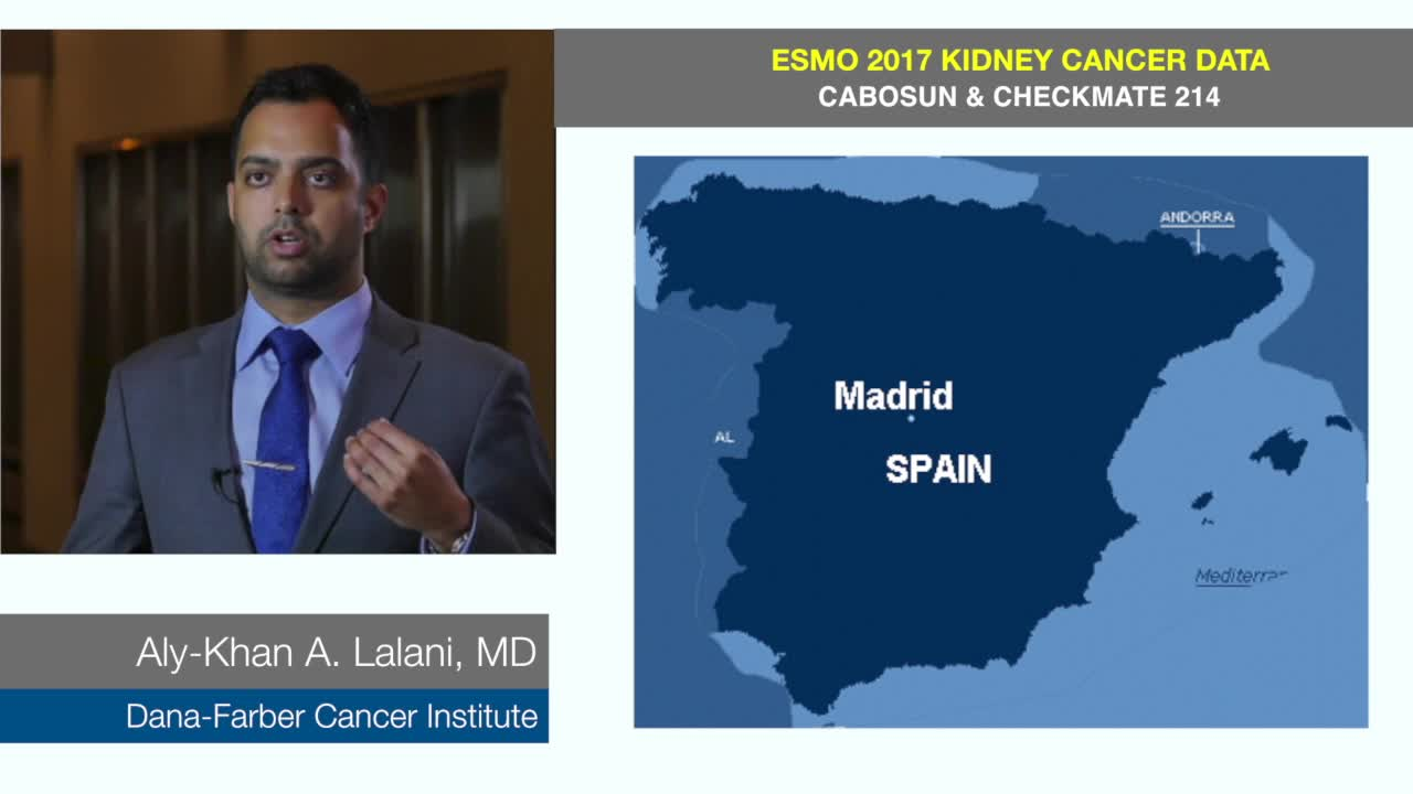 ESMO 2017 Kidney Cancer Update - Cabosun and Checkmate 214 @lalaniMD