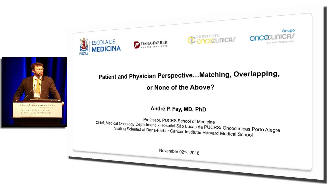 Patient And Physician Perspective…Matching, Overlapping, Or None Of The Above?