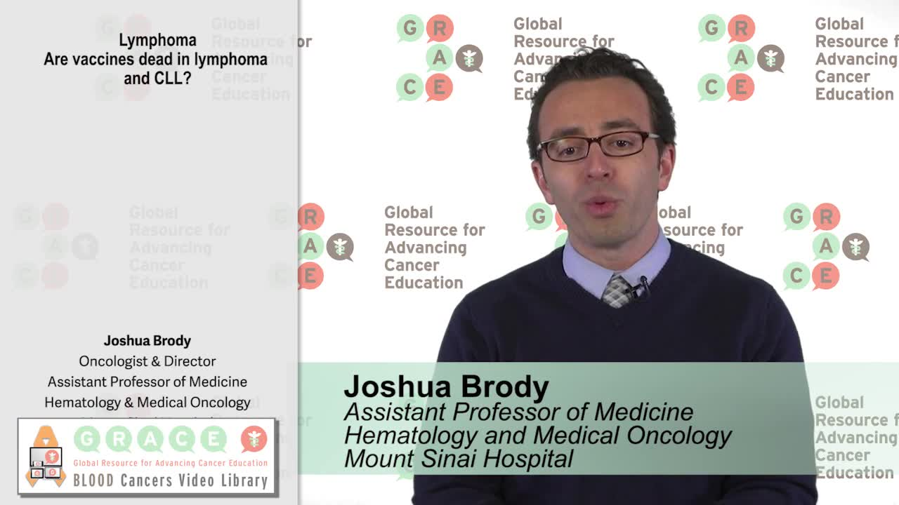 Are vaccines dead in lymphoma and CLL