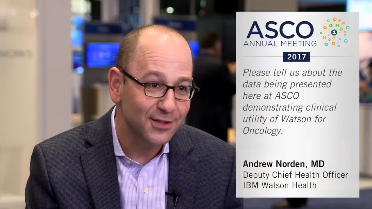 Clinical Utility of Watson for Oncology (WFO)