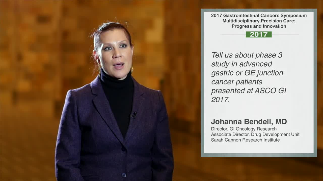 Phase 3 Study in Advanced Gastric or GE Junction Cancer Patients