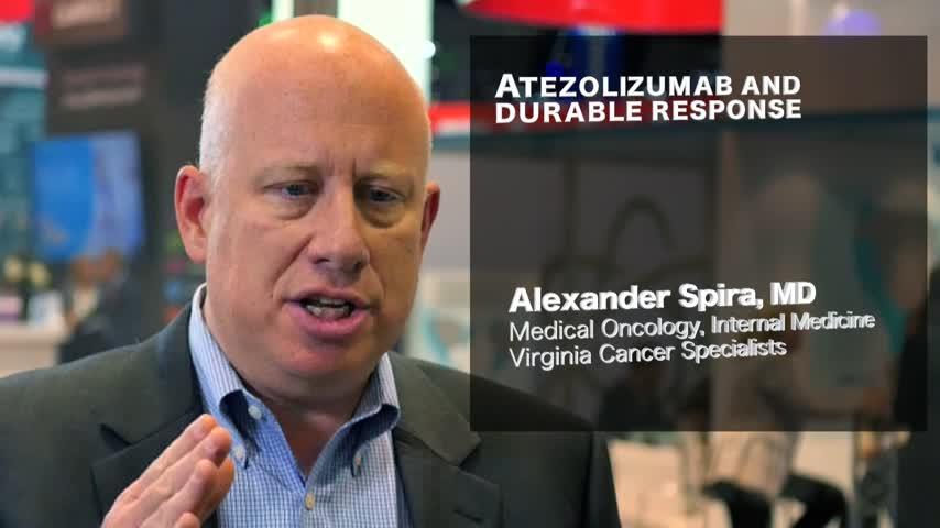 Atezolizumab and durable response