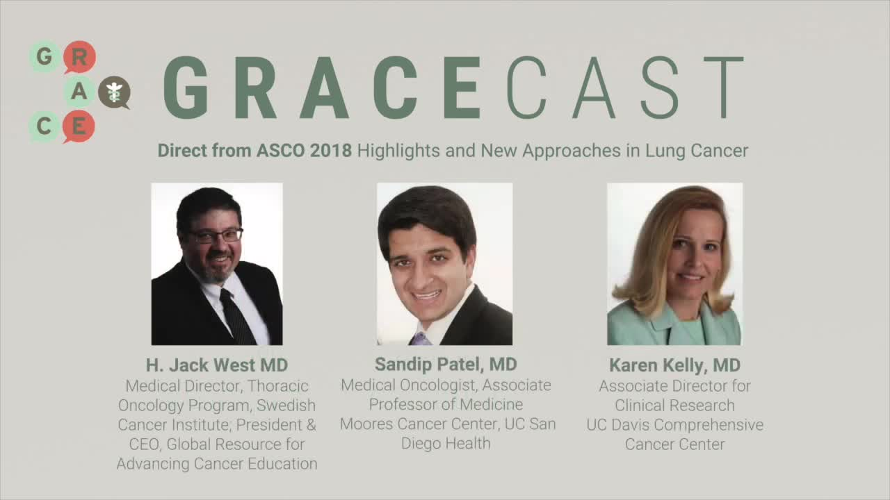 ASCO 2018 - Tarceva or Tarceva with Avastin as 1st Line for EGFR Pos. NSCLC vs. Tagrisso or Vizimpro