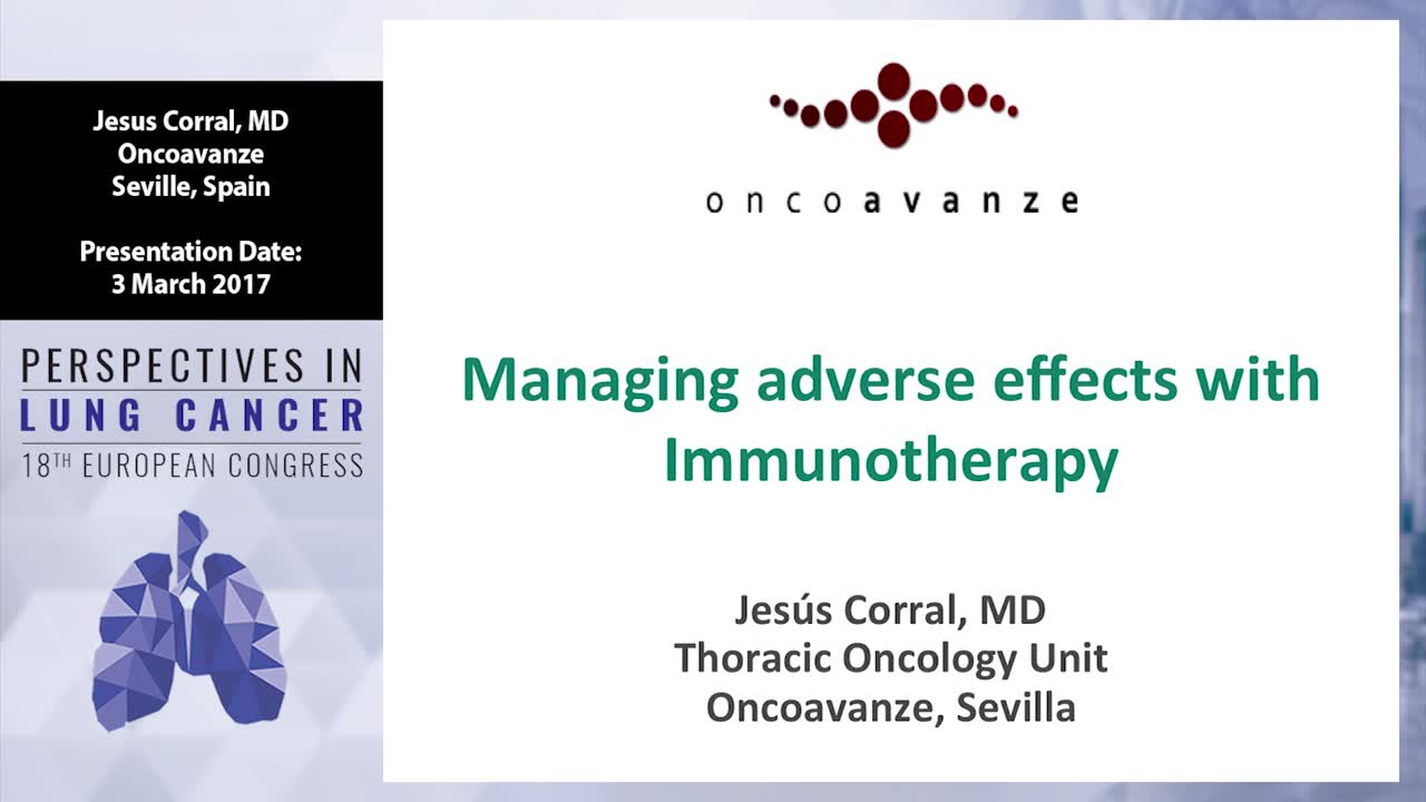 Managing adverse effects with immunotherapy