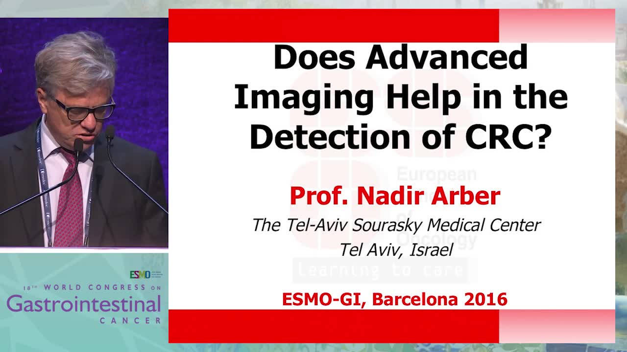 Does advanced imaging help in the detection of CRC?