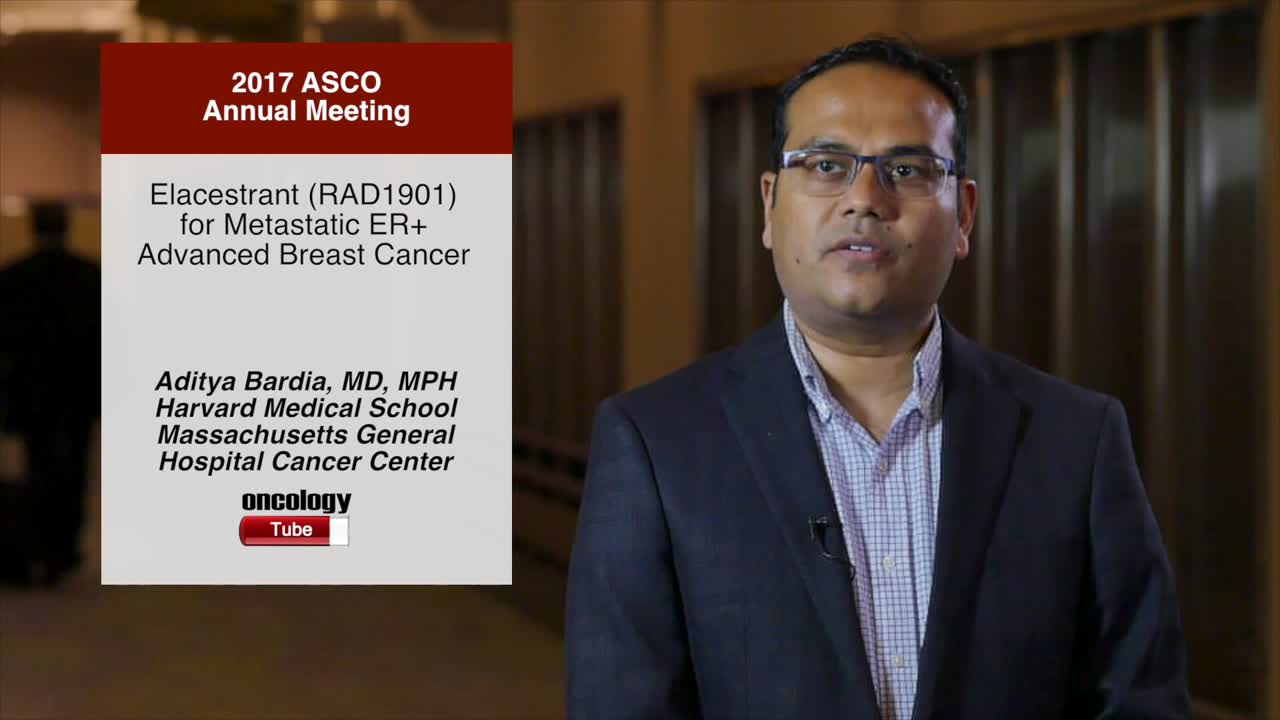Elacestrant (RAD1901) for Metastatic ER+ Advanced Breast Cancer