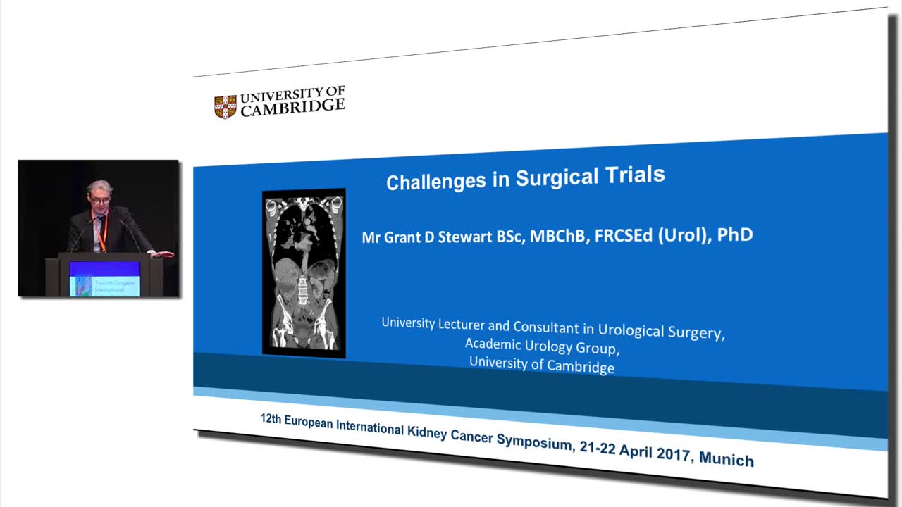 Challenges of Surgical Trials in Kidney Cancer
