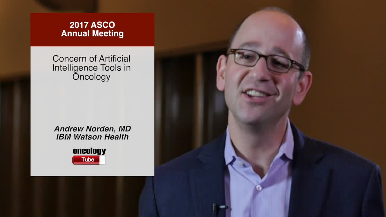 Concern of Artificial Intelligence Tools in Oncology