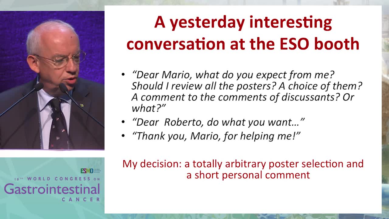 Selected Abstracts: Highlights of poster discussions and posters at ESMO GI