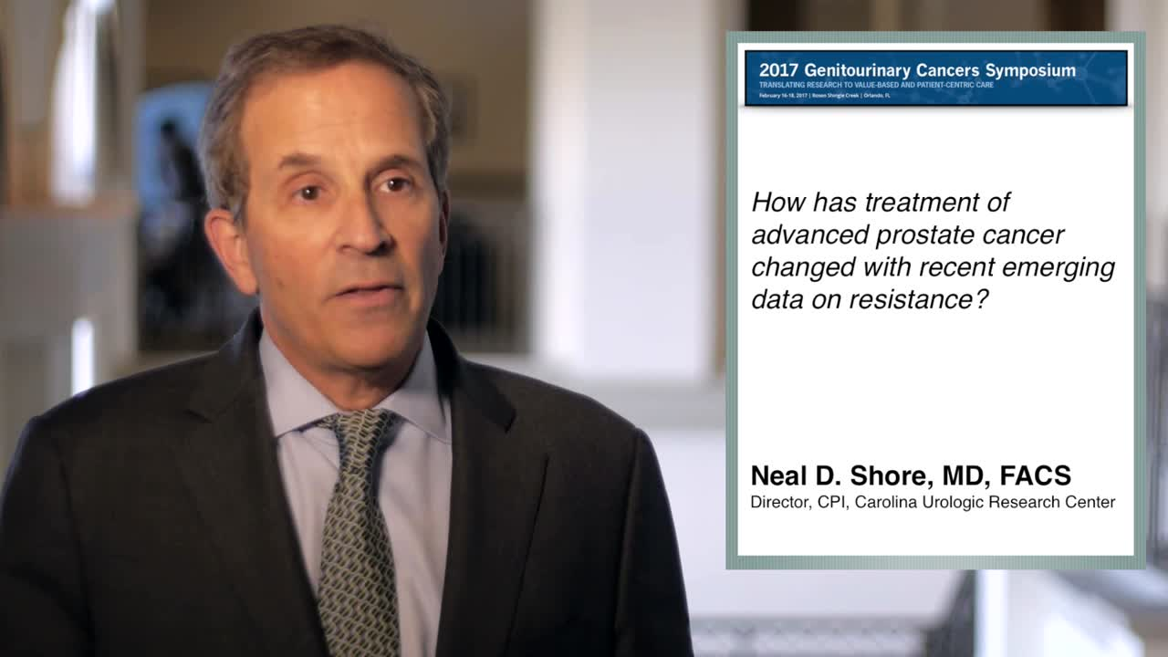 How Recent Data on Resistance Has Changed Advanced Prostate Cancer Treatment