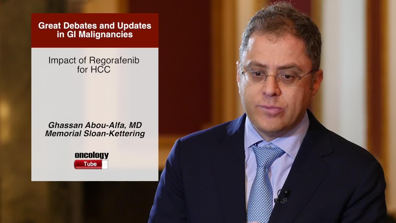 Impact of Regorafenib for HCC