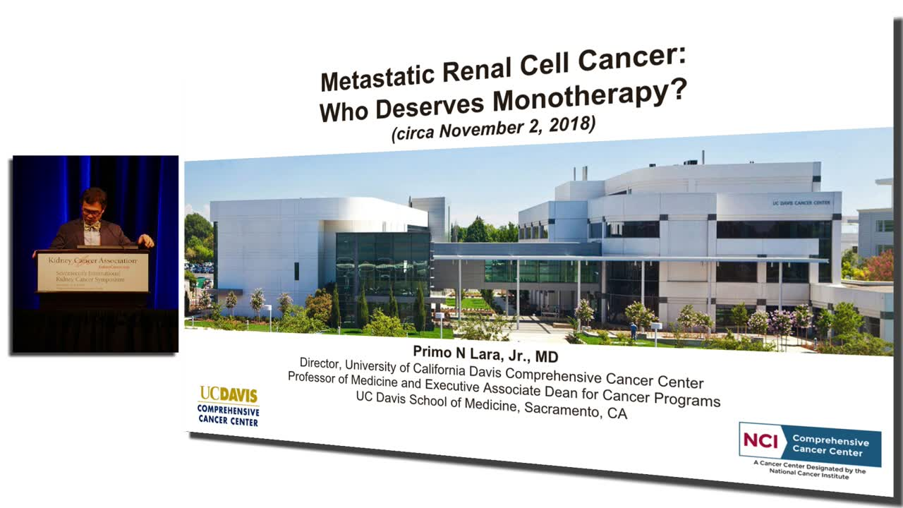 Metastatic Renal Cell Cancer: Who Deserves Monotherapy?