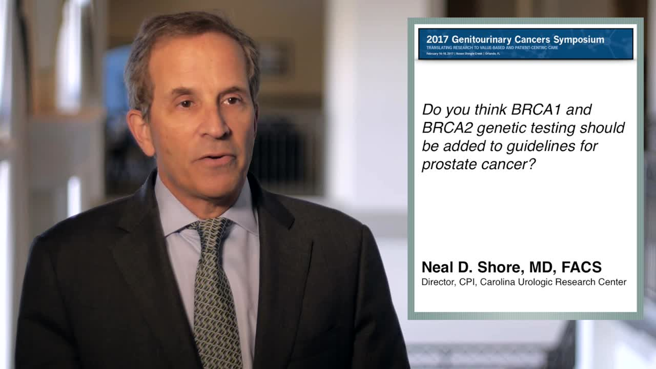 BRCA1 and BRCA2 Genetic Testing are Dramatically Changing Prostate Cancer Treatment Options