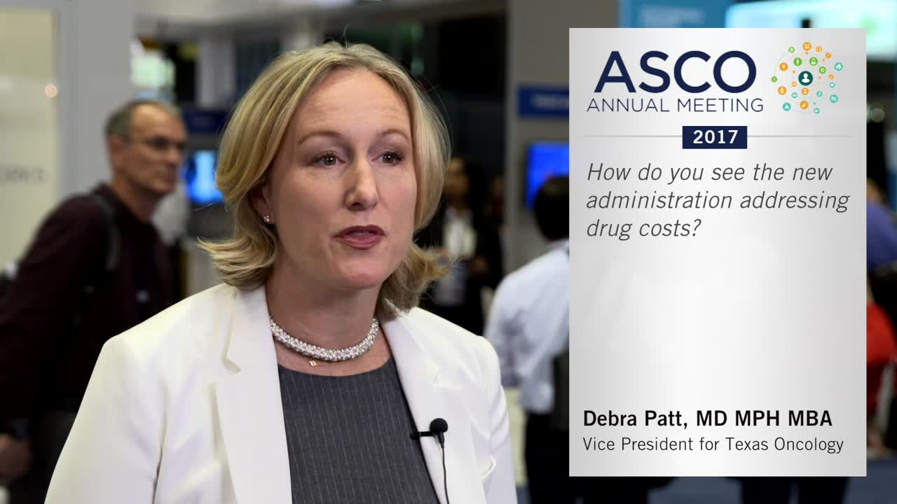 How do you see the new administration addressing drug costs?