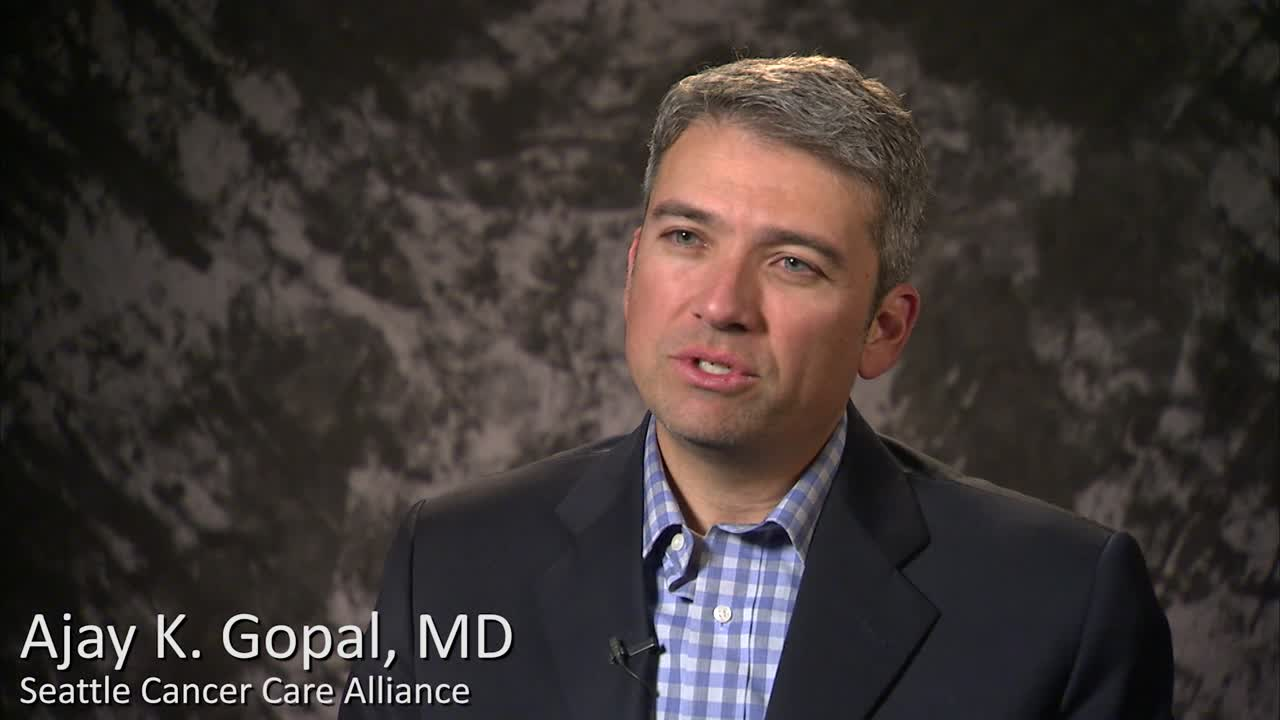 Treatment options for lymphoma