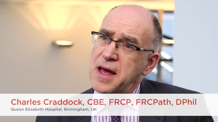 Allogeneic transplant for older AML patients - who, when and how British Society of Haematology