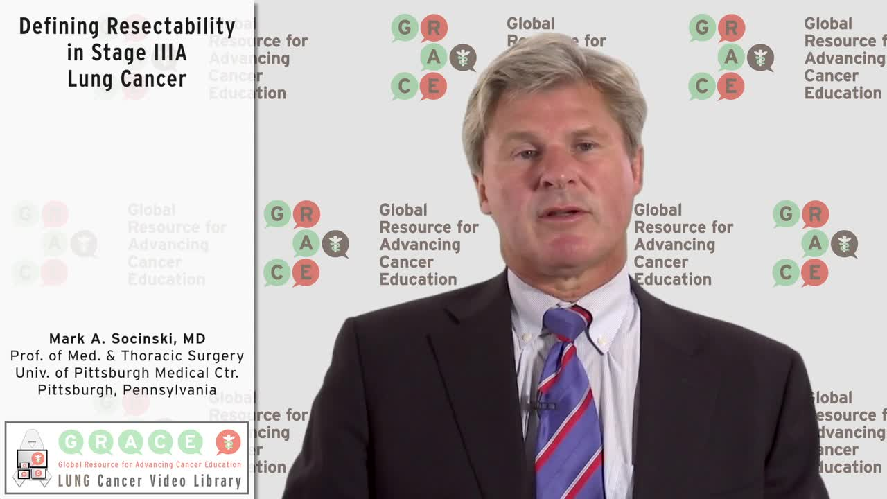 Defining Resectability in Stage IIIA Lung Cancer [720p]