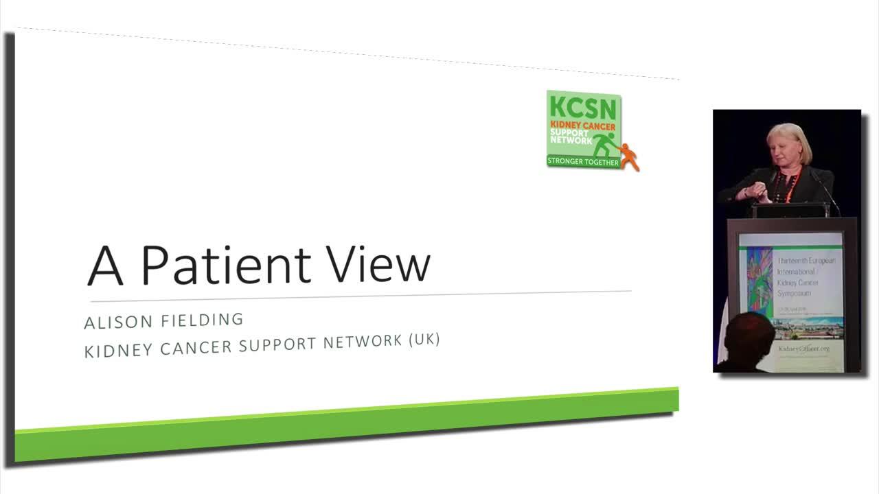 A Patient View