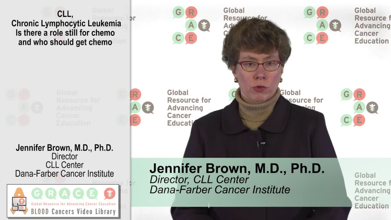 CLL, Is there a role still for chemo AND who should get chemo