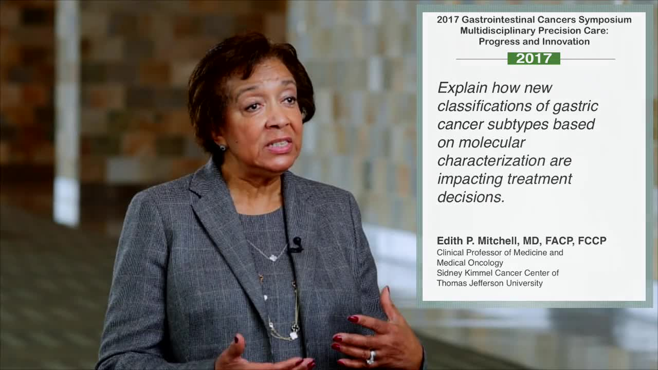 Gastric Cancer Subtypes: Impact on Treatment Decisions