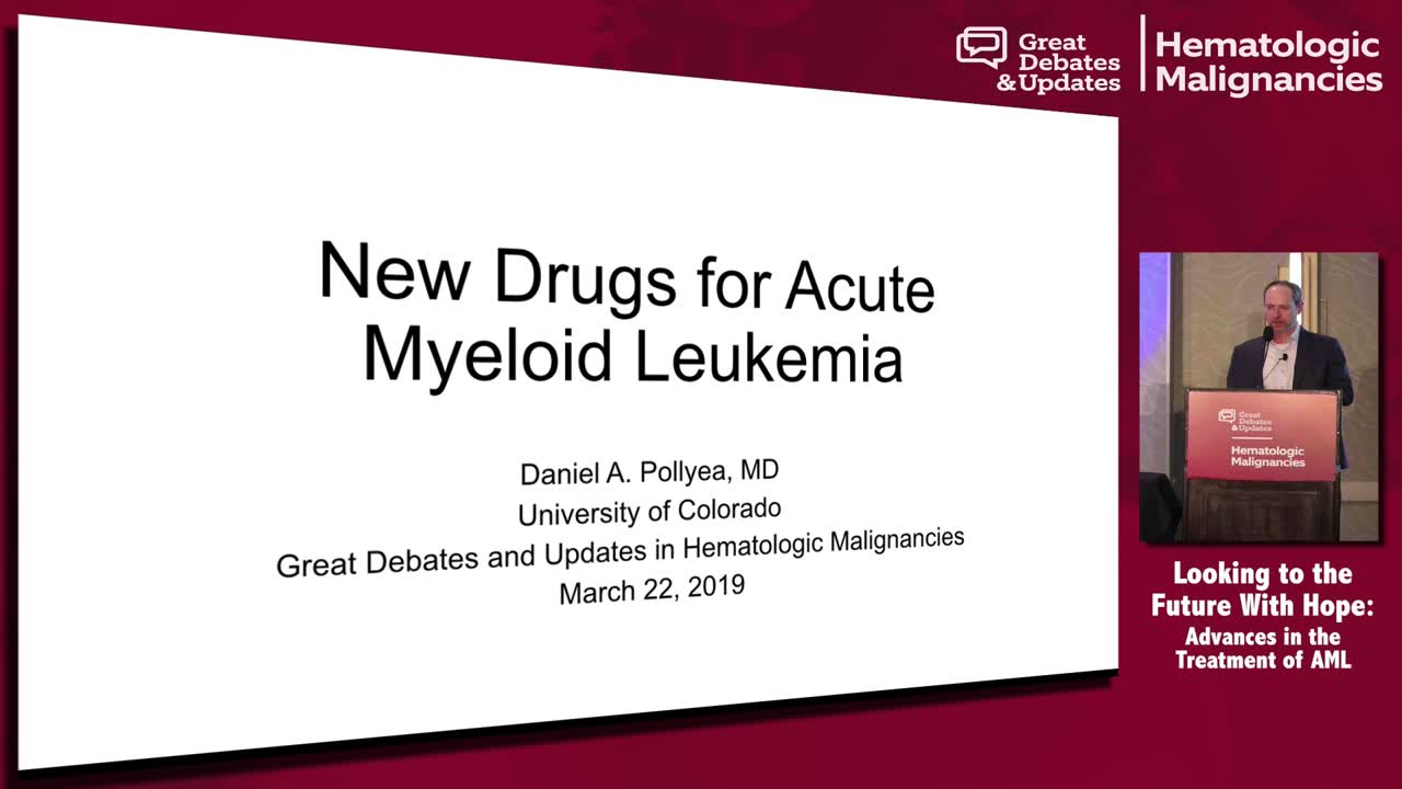 Update: New Drugs for AML